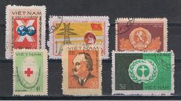 VIETNAM  REPUBBLICA:  1982  VARI  -  6  VAL. US. -  MICHEL  1200//1255 - Vietnam