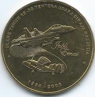 Malaysia - 1 Ringgit - 2008 - 50 Years Of The Royal Malaysian Air Force - KM188 - Malaysia