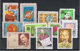 VIETNAM  REPUBBLICA:  1979/80  VARI  -  INSIEME  11  VAL. US. -  MICHEL  1017//1128 - Vietnam