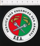 Autocollant Sticker Publicité Service Des Essences Des Armées SEA  21ADH14 - Autocollants