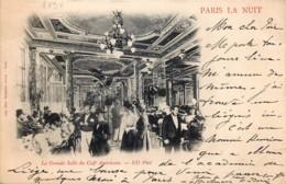 France - 75 - Paris La Nuit - La Grande Salle Du Café Américain - Paris La Nuit