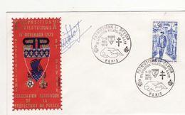 Pli Exposition Philatélique A.A.P.P. 1972. - Police - Gendarmerie