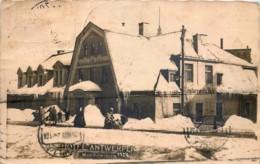 Tchequie - Carte-Photo - Morchenstern 1924 - Hôtel Antwerpen - Tchéquie