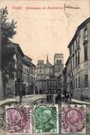 Tchequie - Olmütz - Böhmengasse Mit Mauritzkirche - Verso : Expédié à Un Gendarme Français à Tientsin Chine - Tchéquie