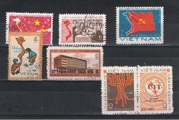 VIETNAM  REPUBBLICA:  1976/78  VARI  -  7  VAL. US. -  MICHEL  852//997 - Vietnam