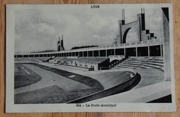 69 : Lyon - Gerland - Stade Municipal - Plan Inhabituel - Papier Glacé - (n°14873) - Lyon 7