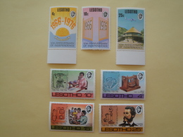 1976 Lesotho Yv 315/6 + 318/22 ** MNH  Cote 3.50 €  Michel 213/4 + 216/20   Scott 213/4 + 216/20 SG 314/5 + 317/21 - Lesotho (1966-...)