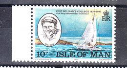 Man - 1983. Nick Keig, International Yachtsman.  MNH - Vela