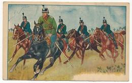 CPA - Cavalerie (militaire) - Ed Publicitaire Conserverie LENZBURG - Autres