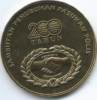 Malaysia - 1 Ringgit - 2007 - 200th Anniversary Of The Malaysian Police Force - KM162 - Malaysia