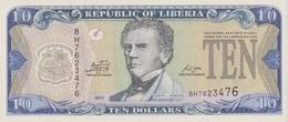 Liberia / 10 Dollars / 2011 / P-27(f) / UNC - Liberia