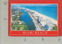 CARTOLINA VG STATI UNITI - Miami Beach - Aerial Vision - 10 X 15 - ANN. 1990 - Miami Beach