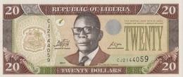 Liberia / 20 Dollars / 2011 / P-28(g) / UNC - Liberia