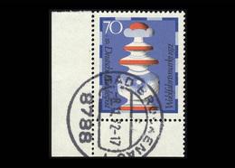 BRD 1972, Michel-Nr. 745, Wohlfahrt 1972, 70 Pf., Eckrand Unten Links, Gestempelt, Siehe Foto - Gebraucht