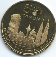 Malaysia - 1 Ringgit - 2007 - 50th Anniversary Of Independence - KM185 - Malaysia