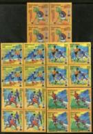 India 2018 Odisha Men's Hockey World Cup Turtle Sports Sikhism BLK/4 MNH - Unused Stamps