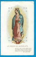 Holycard   La Virgen De   Guadalupe - Santini