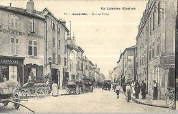 Lunéville Rue De Viller  CPA 1908 - Luneville