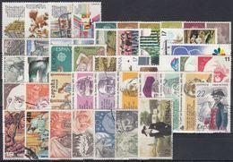 ESPAÑA 1986 Nº 2825/73 AÑO COMPLETO USADO, 47 SELLOS,1 HB,3 CARNETS - España