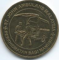 Malaysia - 1 Ringgit - 2008- 100th Anniversary Of St. John's Ambulance - KM191 - Maleisië