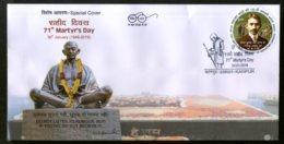 India 2019 Mahatma Gandhi Martyr's Day Special Cover # 18083 - Mahatma Gandhi