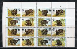 PAKISTAN:  1989  ANIMALI  DELL' HIMALAYA  -  S. CPL. 4  VAL. BL. 4  N. -  MICHEL  759/62 - Pakistan