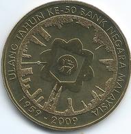 Malaysia - 1 Ringgit - 2009 - 50th Anniversary Of The Bank Negara Malaysia - KM155 - Malaysia