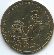 Malaysia - 1 Ringgit - 2009 - International Year Of Astronomy - KM194 - Malaysia
