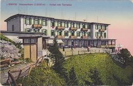637/ Stanserhorn, Hotel Mit Terrasse, 1923 - NW Nidwalden