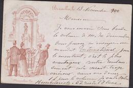 Brussel : Manneken Pis (1900) - Monumenti, Edifici