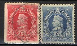 CILE - 1901 - CRISTOFORO COLOMBO - USATI - Cile