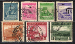 CILE - 1938 - INDUSTRIE - AGRICOLTURA - FERROVIE - MARINA - USATI - Cile