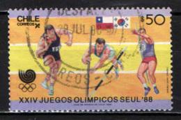 CILE - 1988 - OLIMPIADI DI SEUL - COREA DEL SUD - USATO - Cile