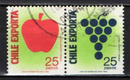 CILE - 1989 - ESPORTAZIONE DEI PRODOTTI DEL CILE - USATI - Cile