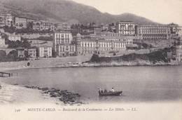 CPA :  Monaco  Monte Carlo Bd De La Condamine  Les Hôtels    LL 349 - Hôtels