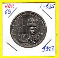 MEC 62 - / Portugal / Commémoratives 100 Escudos 1987 / Pintor Amadeo De Souza Cardoso 1887-1918 / - L-525 - Portugal