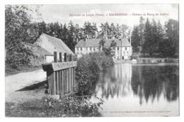 Randonnai (Orne) Château Et étang De Gaillon - Valenciennes