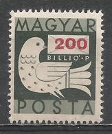 Hungary 1946. Scott #768 (M) Dove And Letter * - Hongrie