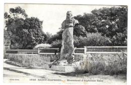 Saint-Raphaêl (Var) Monument Alphonse Karr - Saint-Raphaël