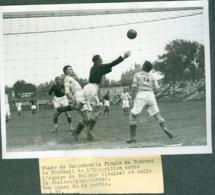 Photo De Presse Football  Match Bologna Italie Chelsea Angleterre 1937 - Sport