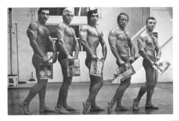 PHOTO  HOMMES TORSE NU EN MAILLOT DE BAIN CULTURISTE CULTURISME  18.5 X 12.5 CM - Sport