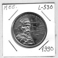 MEC 62 - / Portugal / Commémoratives 100 Escudos 1990 / Camilo Castelo Branco 1820-1890 / - L-530 - Portugal