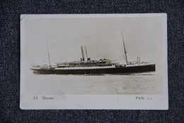 """SCREW STEAMER """"ORCOMA"""" - Paquebot """"ORCOMA"""". - Steamers"""