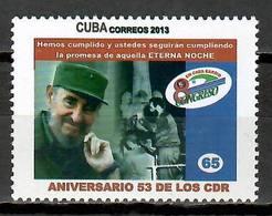 Cuba 2013 / Fidel Castro Revolution Defense Committee MNH CDR / Cu11324  C5-20 - Nuevos
