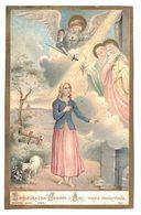 IMAGE PIEUSE RELIGIEUSE HOLY CARD SANTINI BOUASSE N° 799 BIENHEUREUSE JEANNE D'ARC PRIEZ POUR NOUS - Images Religieuses