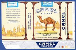 Argentina, Old Cigarrette Pack - CAMEL / Nobleza-Piccardo, San Martin - Empty Tobacco Boxes