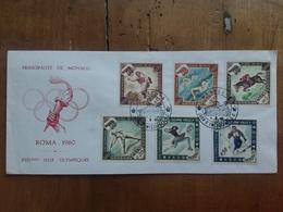 MONACO - F.D.C. Olimpiadi 1960 + Spese Postali - FDC