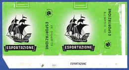 Itália, Old Cigarrette Pack - ESPORTAZIONE / Monopoli Di Stato, Itália - Empty Tobacco Boxes