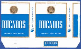 Espanha, Old Cigarrette Pack - DUCADOS / Tabacalera - Empty Tobacco Boxes