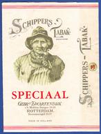 Holland, Old Pipe Tobacco - SCHIPPERS TABAK / Gebs. Lwartendijk, Rotterdam - Empty Tobacco Boxes